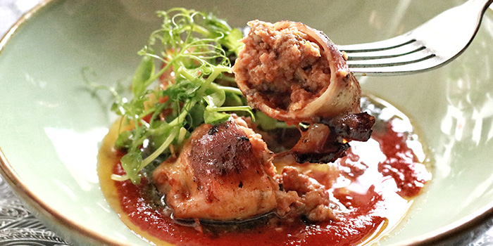 Grilled Stuffed Squid from The Butcher
