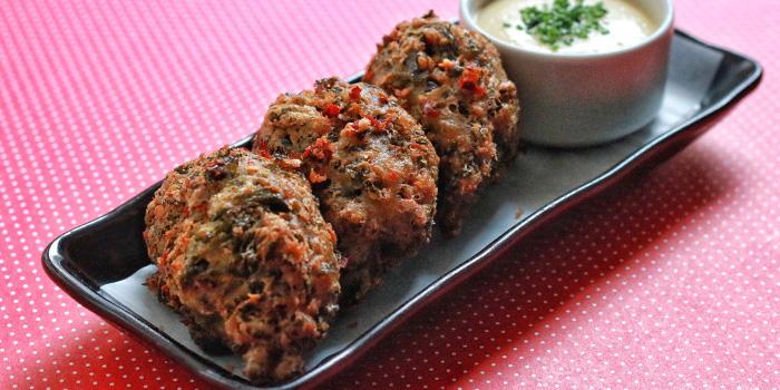 Kale & Gorgonzola Bunuelos from The Butcher