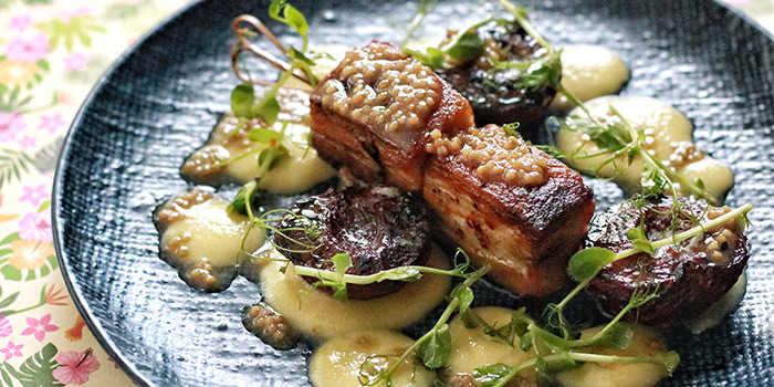 Roasted Pork Belly from The Butcher