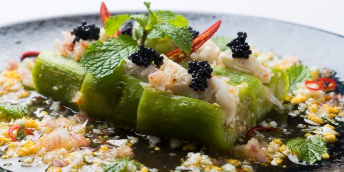 Thai Aubergine Salad from Patara fine Thai cuisine at 375 Thonglor Soi19 Sukhumvit Soi55 Khlong Tan Nuea Bangkok