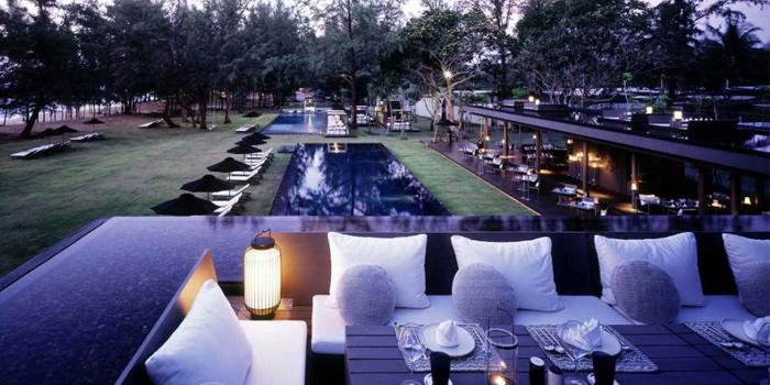 Nest of  SALA Restaurant & Bar in Maikhao, Phuket, Thailand