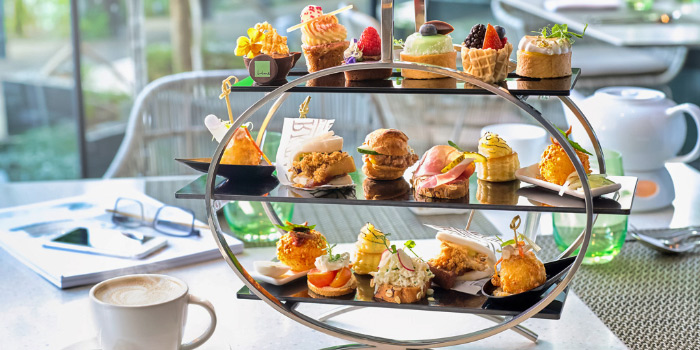 Tiers of Joy High Tea Set from Lime Restaurant in PARKROYAL on Pickering in Chinatown, Singapore