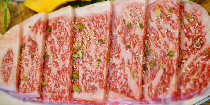 Tokusen Sirloin from Sumi Tei Yakiniku Restaurant at J avenue, Thonglor 13 Sukhumvit 55, Wattana Bangkok