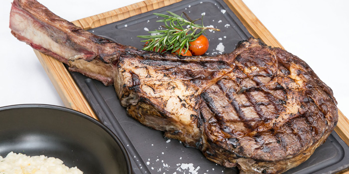 Tomahawk Steak from Scalini at Hilton Sukhumvit Hotel, on Sukumvit Soi 24