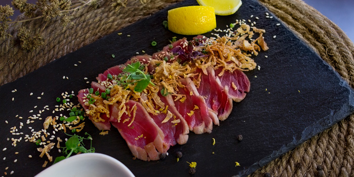 Tuna Dishes from BarSu Cafe at Sheraton Grande Hotel, Bangkok