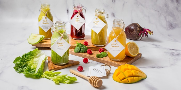 Healthy Juice at Cassis Kitchen