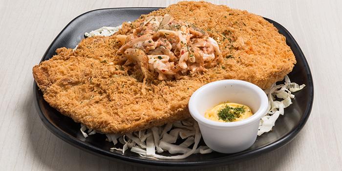 XXL Chicken Cutlet from Bonchon (Bugis+) in Bugis, Singapore