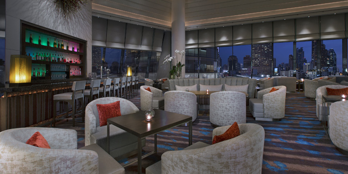 Ambience of Zest Bar and Terrace Restaurant at The Westin Grande Sukhumvit, Bangkok