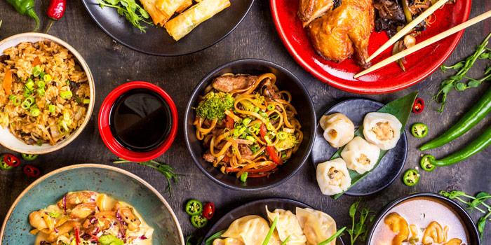 Asian Dishes from Seasonal Tastes Restaurant at The Westin Grande Sukhumvit, Bangkok