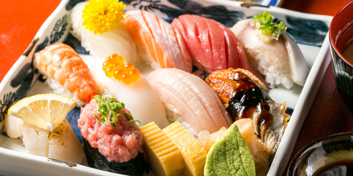 Assorted Sushi from Kisso Restaurant at The Westin Grande Sukhumvit, Bangkok