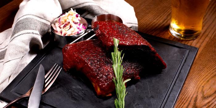 BBQ Pork Ribs from Cali-Mex Bar and Grill at Holiday Inn Sukhumvit Hotel Ground Floor, 999/34, Sukhumvit Rd. Khlong Tan, Khlong Toei Bangkok