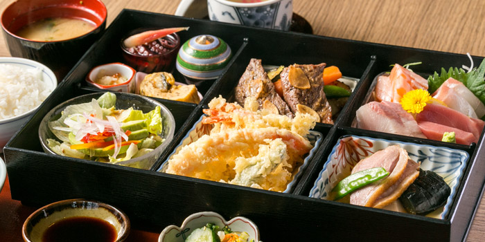 Bento Box from Kisso Restaurant at The Westin Grande Sukhumvit, Bangkok
