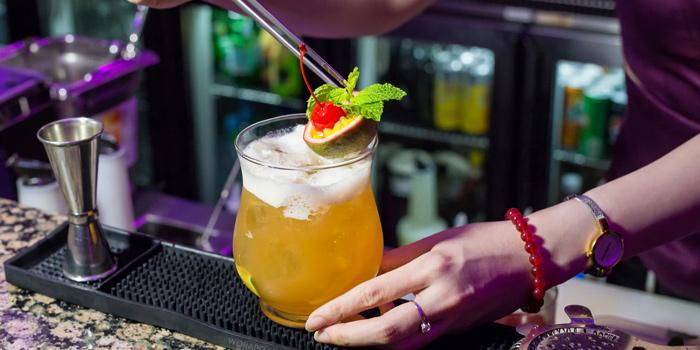 Signature cocktail from Zest Bar and Terrace Restaurant at The Westin Grande Sukhumvit, Bangkok
