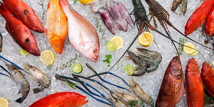 Fresh Seafood at Arwana Restaurant, Nusa Dua