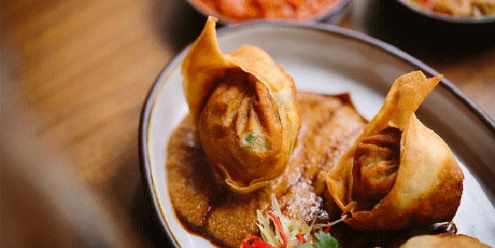 Fried Dumplings, Potato Head, Sai Ying Pun, Hong Kong