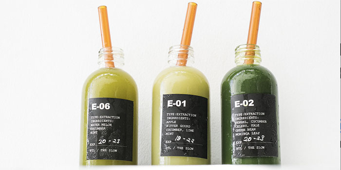 Green Juices from The Slow Canggu