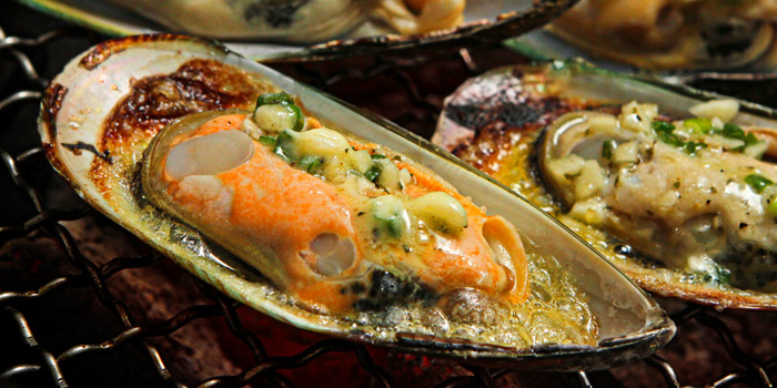 Grilled Mussel from Iroha Yakiniku at 141/3 Soi Thonglor 11, Sukhumvit Road Klongton-Nua, Wattana Bangkok