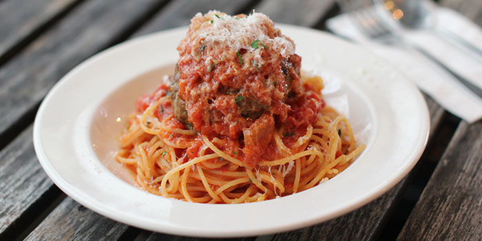 Meatball Spaghetti, Moreish & Malt, Hung Hom, Hong Kong