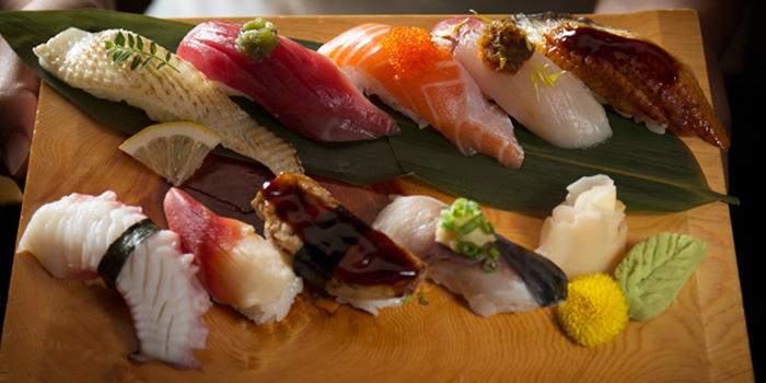 Mixed Sushi Platter from Kisso Restaurant at The Westin Grande Sukhumvit, Bangkok