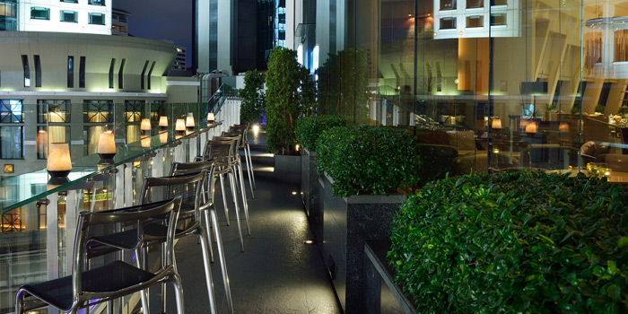 Exterior of Zest Bar and Terrace Restaurant at The Westin Grande Sukhumvit, Bangkok