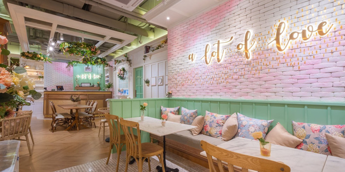 Romantic Corner of A lot of love at LG Floor Eight Thonhlor Khlong Tan Nuea, Watthana Bangkok