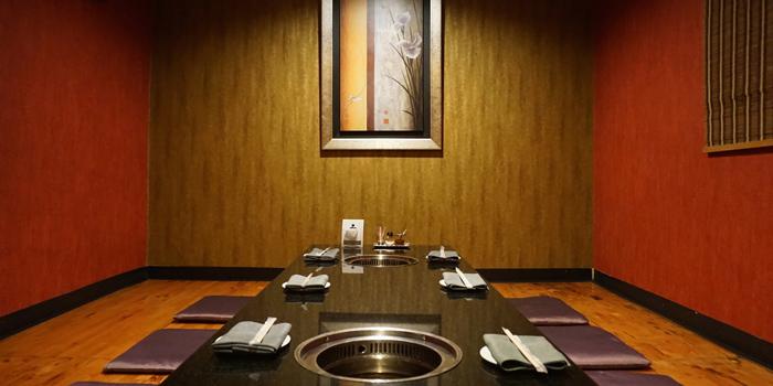 Dining Area of Iroha Yakiniku at 141/3 Soi Thonglor 11, Sukhumvit Road Klongton-Nua, Wattana Bangkok