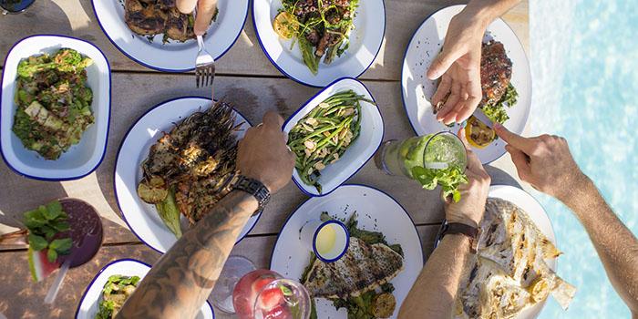 Dish at Mrs Sippy, Seminyak, Bali