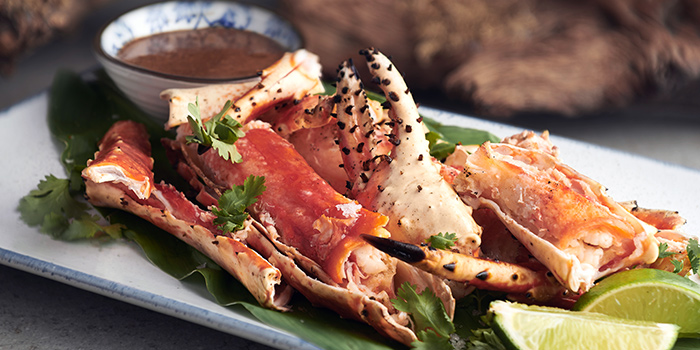 Alaskan King Crab from Summerlong at The Quayside in Robertson Quay, Singapore