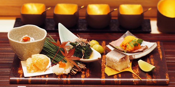 Autumn Appetizer from Ginza Tenharu at Gaysorn Village, 3rd floor 999 Phloen Chit Rd Lumphini, Pathum Wan Bangkok