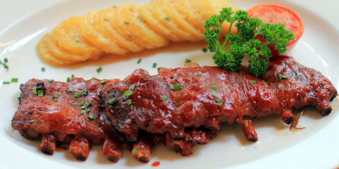 Baby Pork Ribs from Bamboo Bar & Grill Bali