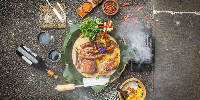 Butcher Board at Plantation Restaurant (Alila Ubud)