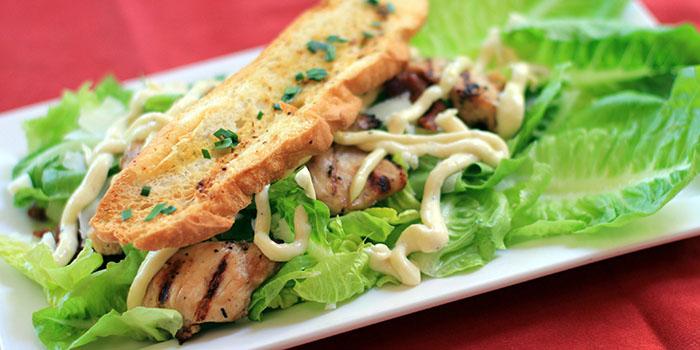Caesar Salad from Bamboo Bar & Grill Bali
