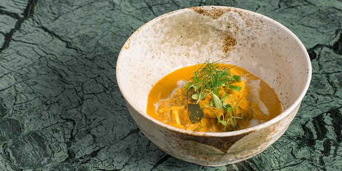 Blue Swimmer Crab Curry from Candlenut in Dempsey, Singapore