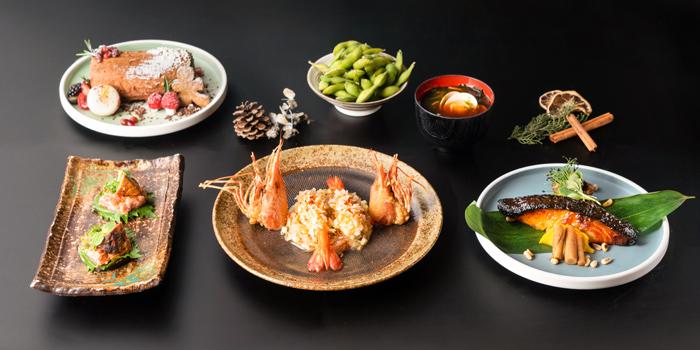 Christmas Lunch Black Cod Menu, CÉ LA VI Restaurant Hong Kong, Lan Kwai Fong, Hong Kong