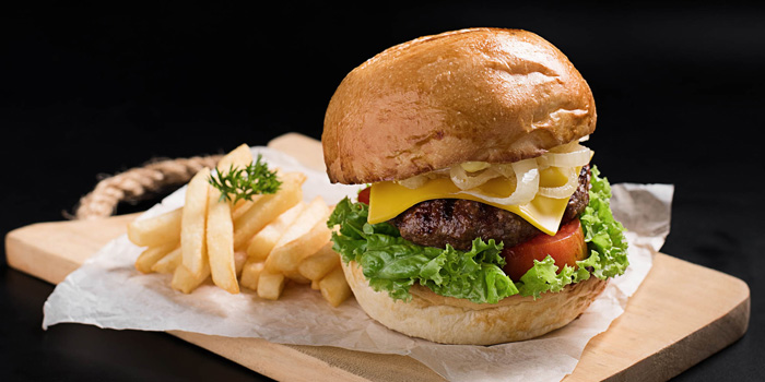Classic Burger at Meat Me, Kemang
