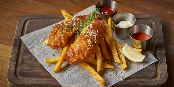 Classic Fish and Chip from Mellow Restaurant & Bar at Penny