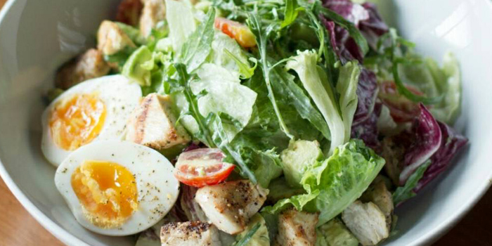 Cobb Salad from White Shuffle at 251/1 Seenspace Thong Lo 13 Alley Khlong Tan Nuea, Watthana Bangkok
