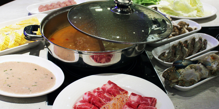 Steamboat from COCA at Suntec at City Hall, Singapore