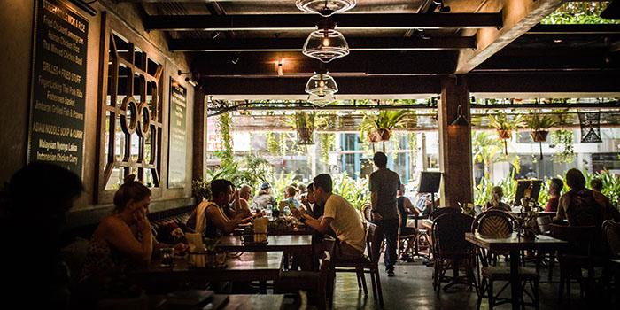 Interior from Dulang Kafe, Kuta, Bali