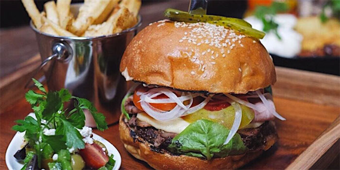 Principle Burger from Principle Bali