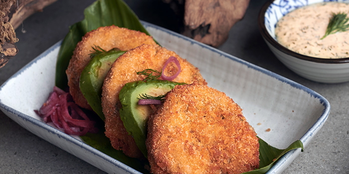 Crab Cakes from Summerlong at The Quayside in Robertson Quay, Singapore