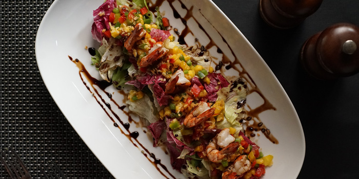Prawn Mango Salad at Sea Grain, DoubleTree Jakarta