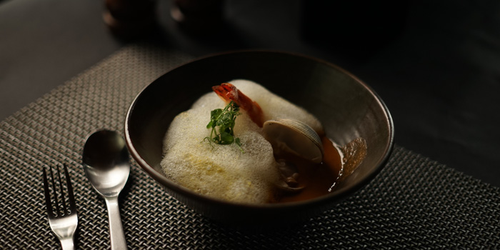 Lobster Bisque at Sea Grain, DoubleTree Jakarta