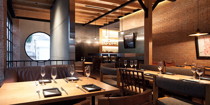 Dining Area of Mellow Restaurant & Bar at Penny