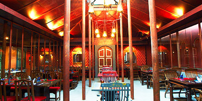 Dining Area of MahaNaga at 2 Sukhumvit, Soi 29 Klong Toey Neu, Wattana Bangkok