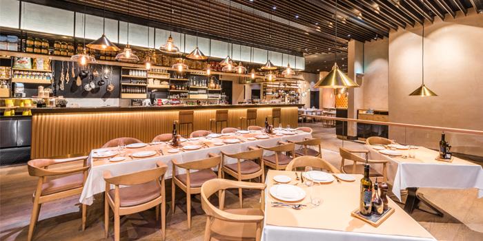Dining Area, ROSSI Trattoria (Macau), Coloane-Taipa, Macau