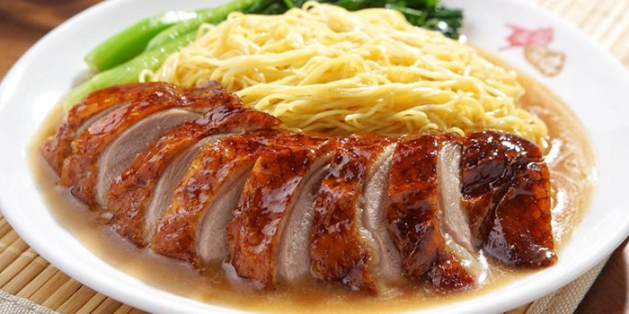 Duck Over Noodle at Kam