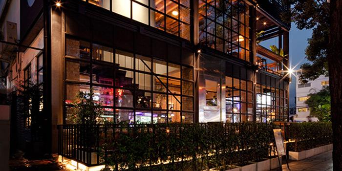 Entrance of Mellow Restaurant & Bar at Penny
