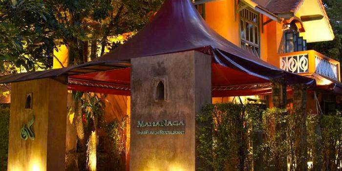 Entrance of MahaNaga at 2 Sukhumvit, Soi 29 Klong Toey Neu, Wattana Bangkok
