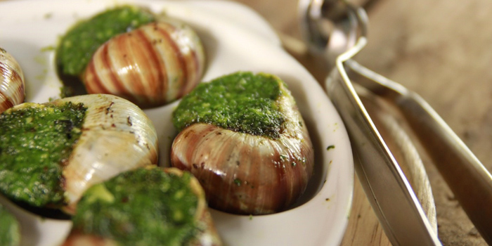Escargots from The Raw Bar at 494, The Erawan Bangkok Ploenchit Road, Pathumwan Bangkok